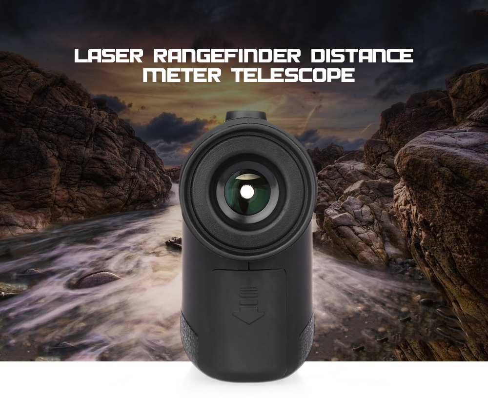 Bermain golf optical laser rangefinder scope multifungsi jarak