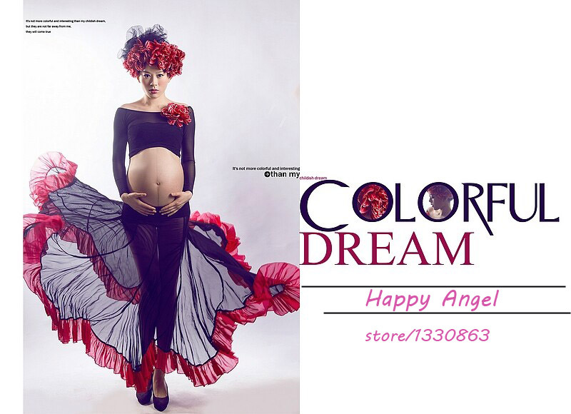 Maternity Photography Props for pregnant women Dress Pregnancy cute sexy Romantic set Princess Baby Shower Free shipping фурминатор для собак короткошерстных пород furminator short hair large dog