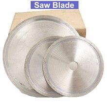 URANN 110mm 150mm 160mm 200mm 250mm 300mm 400mm Diamond Saw Blade Wheel Cutting Disc For Jade Gemstone Crystal Agate Cutting