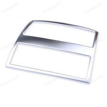 ABS Chrome салона Кондиционер Vent накладка Стикеры рамка для B/mw 5 серии F10 F11 535i 550i 520i 2011 2012 +