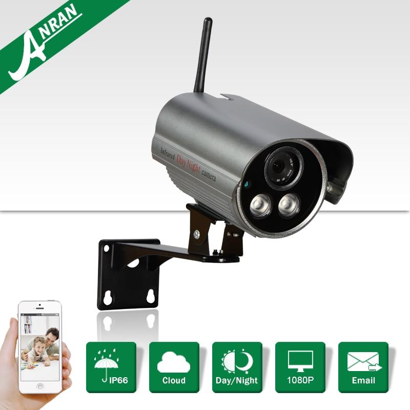 Onvif 1080P HD Wireless CCTV Camera H.264 Video 30IR Outdoor Waterproof Network WIFI Bullet Camera Security Surveillance Device