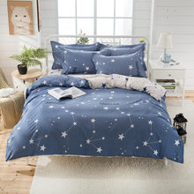 Soft Cotton Skin Fabric Bedding Set Kids Child Bed Linens Single Twin Full Queen King Size 24(China)