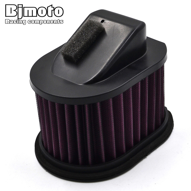 Motorcycle High Flow Air Cleaner Replacement Filter Element For Kawasaki Z800 2013 2014 2015
