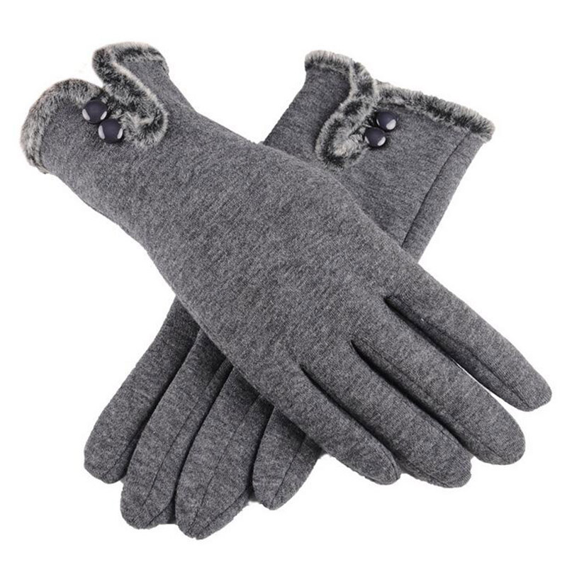 Comfortable and Warm Non Inverted Touch Screen Gloves for Women with Sensitive Touch Screen Function without Hand Exposing to Cold 3
