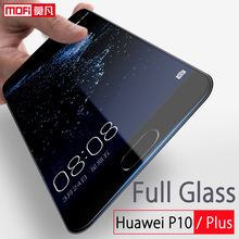 Huawei P10 glass tempered screen protector 5.1 ultra thin full cover 9H clear mofi 5.5 plus