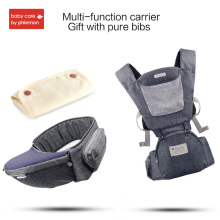 купить Babycare Multi-function Baby Carrier Infant Ergonomic Waist Stool Kid Kangaroos Belt Hipseat Sling Travel HipSeat Walkers Hold по цене 1041.45 рублей