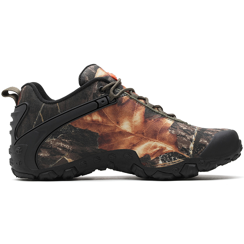 Unisex Waterproof Camouflage Outdoor Hiking Shoes Trekking Sneakers For Women Men Climbing Mountain Hunting Tourism Shoes цена