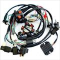 3PCS GY6 Wire Loom Harness Solenoid Magneto Coil Regulator CDI 150cc ATV Quad Bike TA