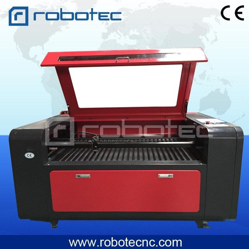Robotec лазер 80 Вт 100 Вт 130 Вт 150 Вт акриловая пластмасса с отделкой «под дерево» ПВХ доска 1390 co2 станок для лазерной резки на продажу