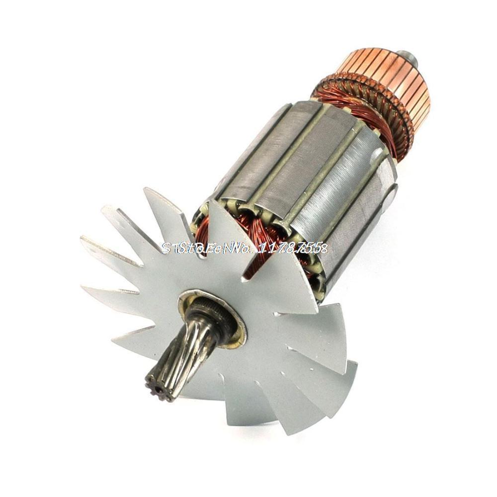 цена на Power Tool 9 Teeth Electric Motor Rotor for AC 220V Makita 5016B Electric Saw