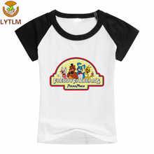LYTLM FNAF Freddy camiseta Vetement Enfant Garcon cinco noches en Freddy  camiseta niños coreanos ropa Camisa e6509d2d062