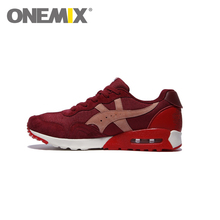 Original Onemix Cheap Running Shoes for Men Trainers Retro Trend Zapatos de Deporte Mujer Breathable Athletic Sneakers Free Ship