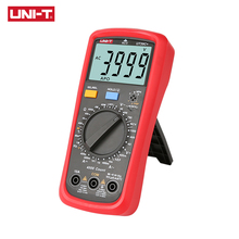 UNI T Digital Multimeter UT39A+ UT39C+ Manual Range Electrician Multimetro Capacitor Tester Digital With LCD Backlight Data Hold uni t ut39a ut39c digital multimeter auto range ac dc voltmeter ammeter ohmmeter capacitor multimetro tester
