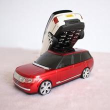 GOFLY E9000 Pequeño bar Linterna FM Bluetooth Dual Tarjetas de banco móvil Mini Teléfono Celular Lindo P268