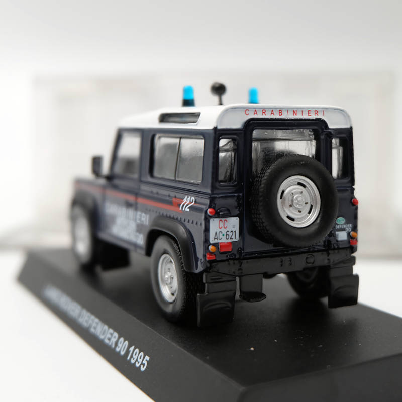 Grani & Partners 1:43 Land Rover Defender 90 1995 Carabineri blue Toys Car Model Limited Edition Collection Diecast