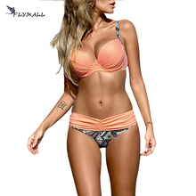 2017 Summer Low Waist Swimwear Women Sexy Bench Swimsuit Bikini Set Bathing Suit Push Up Biquini Brazilian Maillot De Bain nidalee sexy women swimwear high waist bikini plus size 3xl swimsuit beach bathing suit push up bikini set maillot de bain femme