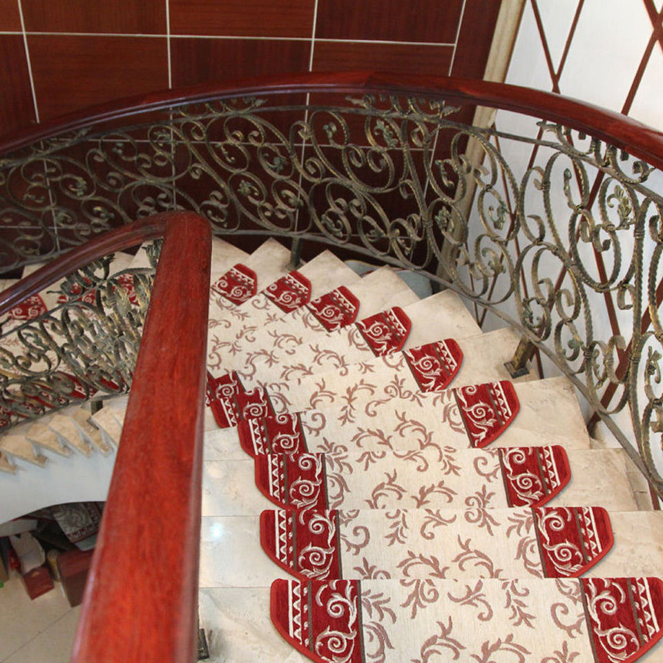 100 New High Quality Popular Multi Color Sector Floral Stair | Floral Carpet For Stairs | Modern | Brown Pattern | Pattern | Laminate | Diamond Pattern