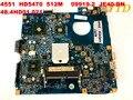 Оригинальная материнская плата для ноутбука ACER 4551 HD5470 512M 09919-2 JE40-DN 48.4HD01. 021 протестирована  бесплатная доставка