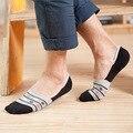 Весна/summer Китайский стиль военно-морского флота горох Невидимые мужские носки мужской хлопок силиконовые противоскользящие stealth носок Тапочки