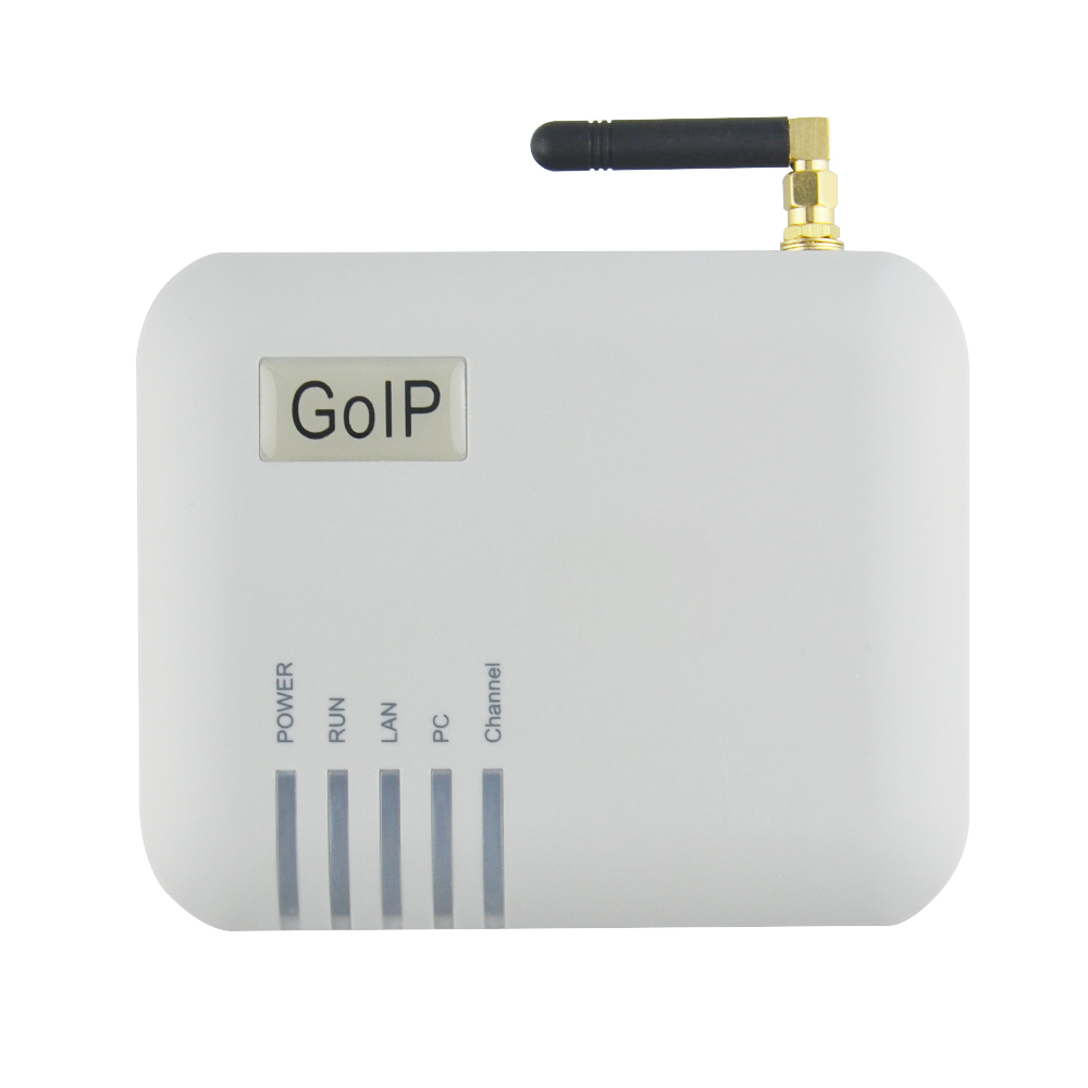 Free shipment!GSM GOIP gateway VoIP adapter GOIP-1 one channel GSM gateway FXS FXO GOIP IP PBX VoIP phone adapter IMEI change goip voip gateway gsm converter sip ip phone adapter goip 1 leds for power ready status wan pc gsm