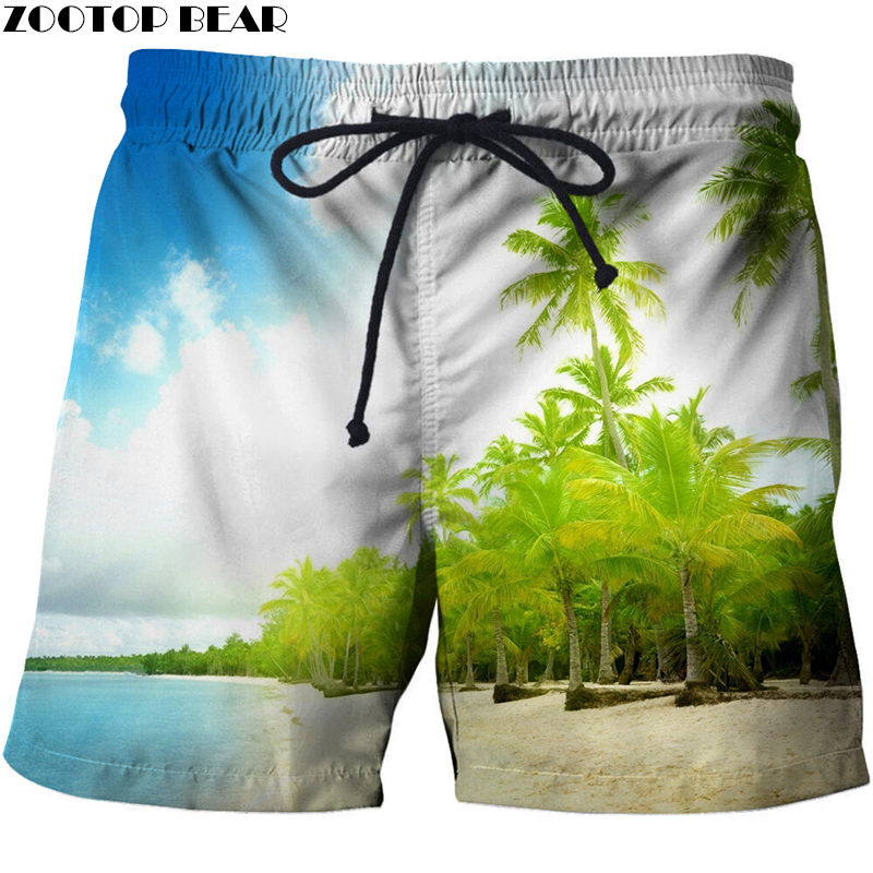 Blue Sea 3D Printed Summer Beach Shorts Masculino Men Board Vacation Shorts Anime Short Plage Quick Dry Streetwear Gyms Fashion