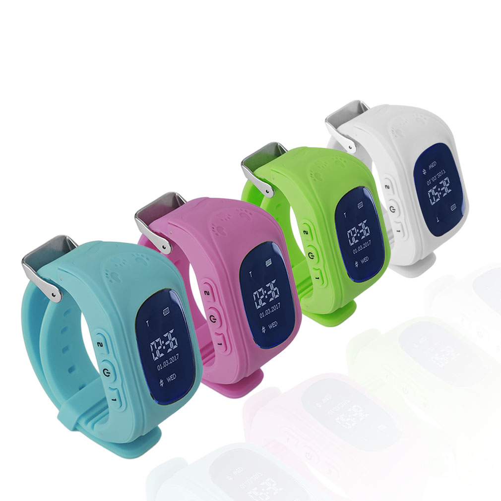 Baby's Q50 Smart Watch For Children Kid Wristwatch GSM GPRS Emergency SOS Locator Tracker For IOS Android Pk Q100 Baby Gift