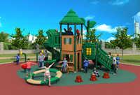 school/kindergarten/park/community outdoor plastic combined slide playground YLW024