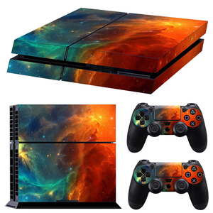 Image 3 - Classic PS4 Skin Camouflage Vinyl Cover Decal PS4 Skin Sticker for Sony Play Station 4 Console and 2 Controller Sticker