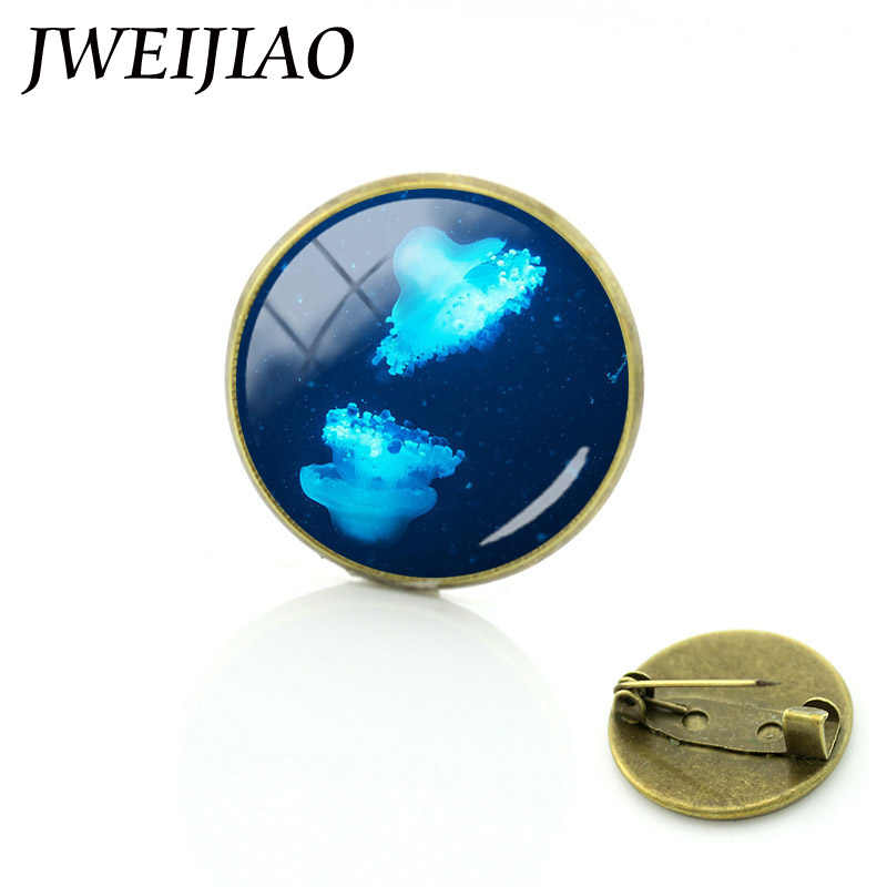 """Jweijiao a segunda temporada """"o planeta bule"""" oceano vida coisa broches azul baleia broche pinos mar tartaruga peixe jóias pinos oc31"""