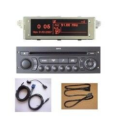 Original RD45 Auto Radio USB AUX Bluetooth Geeignet 207 206 307 C3 C4 C5 Auto CD Player Upgrade von RD4 CD Auto Audio