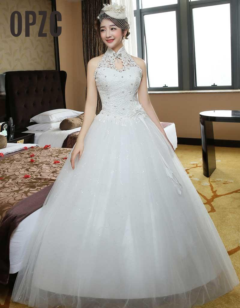 Fashionable New Design Elegant Hign Neck Crystal Bow Tie Flower Applique Wedding Dress Flower Sash Lace
