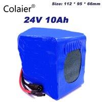 Colaier 24V 10Ah 6s5p lithium battery electric bicycle 18650 / 24V (25.2V)Li ion battery