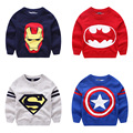 Winter Autumn Film Characters Tidy Boys Sweaters Knitted Pullovers for Kids Clothes O-Neck T2/DAE