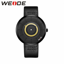 WEIDE Leather Mens Watches  Brand Luxury Waterproof Analog quartz watch Clock automatic cheap watches Men Jung Wristwatch
