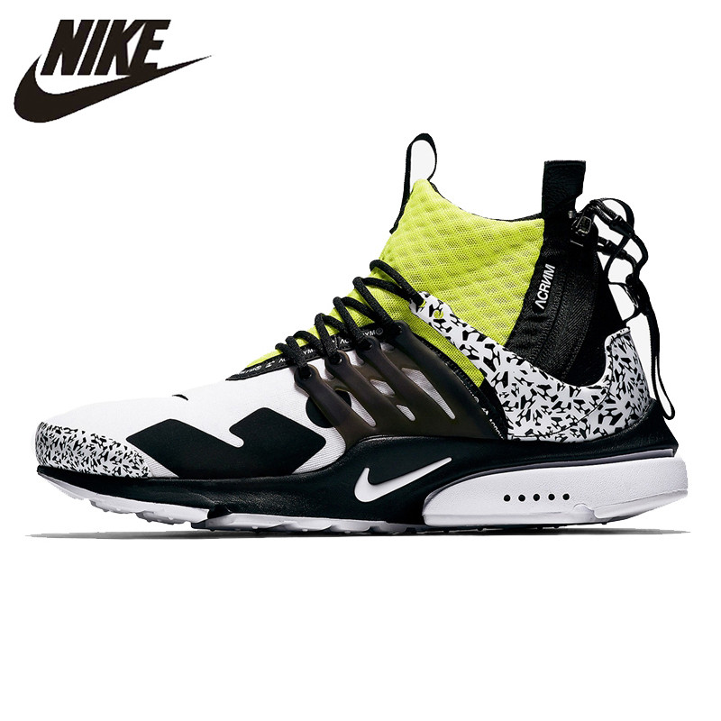 b2b34ee62d2 Detail Feedback Questions about ACRONYM X NIKE AIR PRESTO MID Running Shoes  Sneakers Sports for men AH7832 100 40 45 on Aliexpress.com
