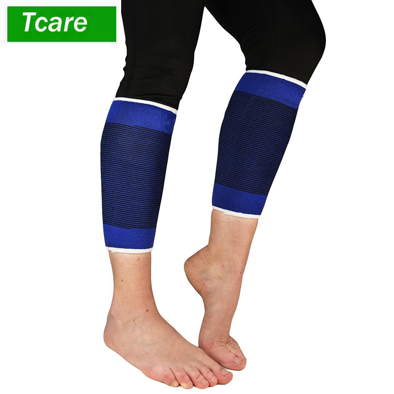 1Pair Sport Calf Brace Sleeve Support Compression Sock Running Relief for Shin Splints and Varicose Veins
