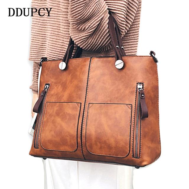 2018 Designer Best Ed Twill Leather Handbag Fashion High End Women Shoulder Messenger