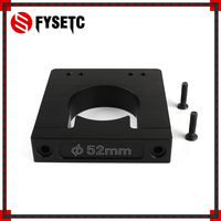 Aluminum Alloy Diameter 52mm CNC Router/Spindle Mount For Makita RT 0700C Workbee OX CNC Router Machine 3D Printer Parts
