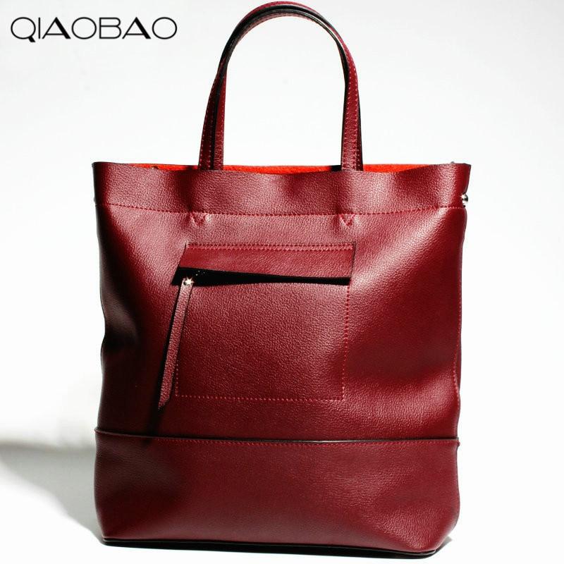 QIAOBAO 100% Genuine Leather handbags new network of red explosion ladle ladies bag fashion trend ladies bag qiaobao 100% genuine leather handbags new network of red explosion ladle ladies bag fashion trend ladies bag