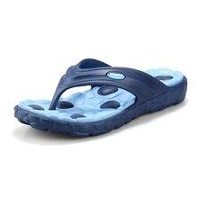 Heißer Verkauf authentic New Summer Fashion Flip Flops Sandalen Männer Männliche Flache Massage Strand Hausschuhe männer müßiggänger-schuhe freies verschiffen