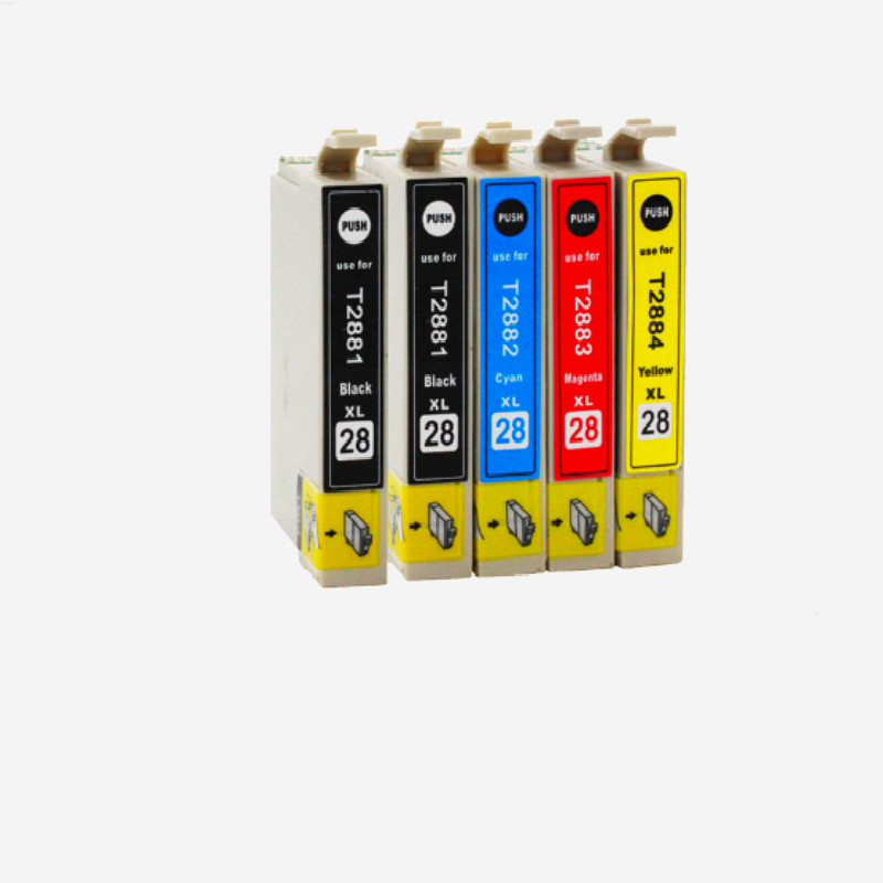 5x Compatible T2881 T2882 T2883 T2884 ink cartridge for EPSON 288XL Expression Home XP 430 330 434 440 Printer T288