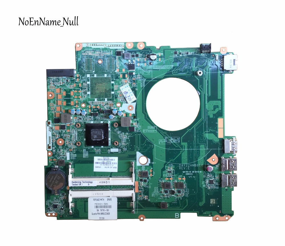 763421-501 Free Shipping 763421-001 FOR HP PAVILION 17-F Laptop Motherboard DAY22AMB6E0 REV:E A4-6210 motherboard 100% Tested763421-501 Free Shipping 763421-001 FOR HP PAVILION 17-F Laptop Motherboard DAY22AMB6E0 REV:E A4-6210 motherboard 100% Tested