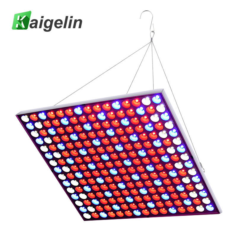 Kaigelin 45w 225 LEDs Fitolampa Phyto-lamp LED Grow Light Full Spectrum LED Panel Grow Lamp For Plants Hydroponics Tent Aquarium 90w ufo led grow light 90 pcs leds for hydroponics lighting dropshipping 90w led grow light 90w plants lamp free shipping