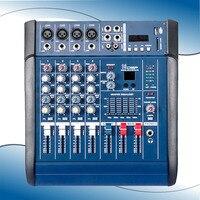 Comparar PMX402D USB mezcladora de Audio con línea de micrófono Digtal de 4 canales consola con 48V