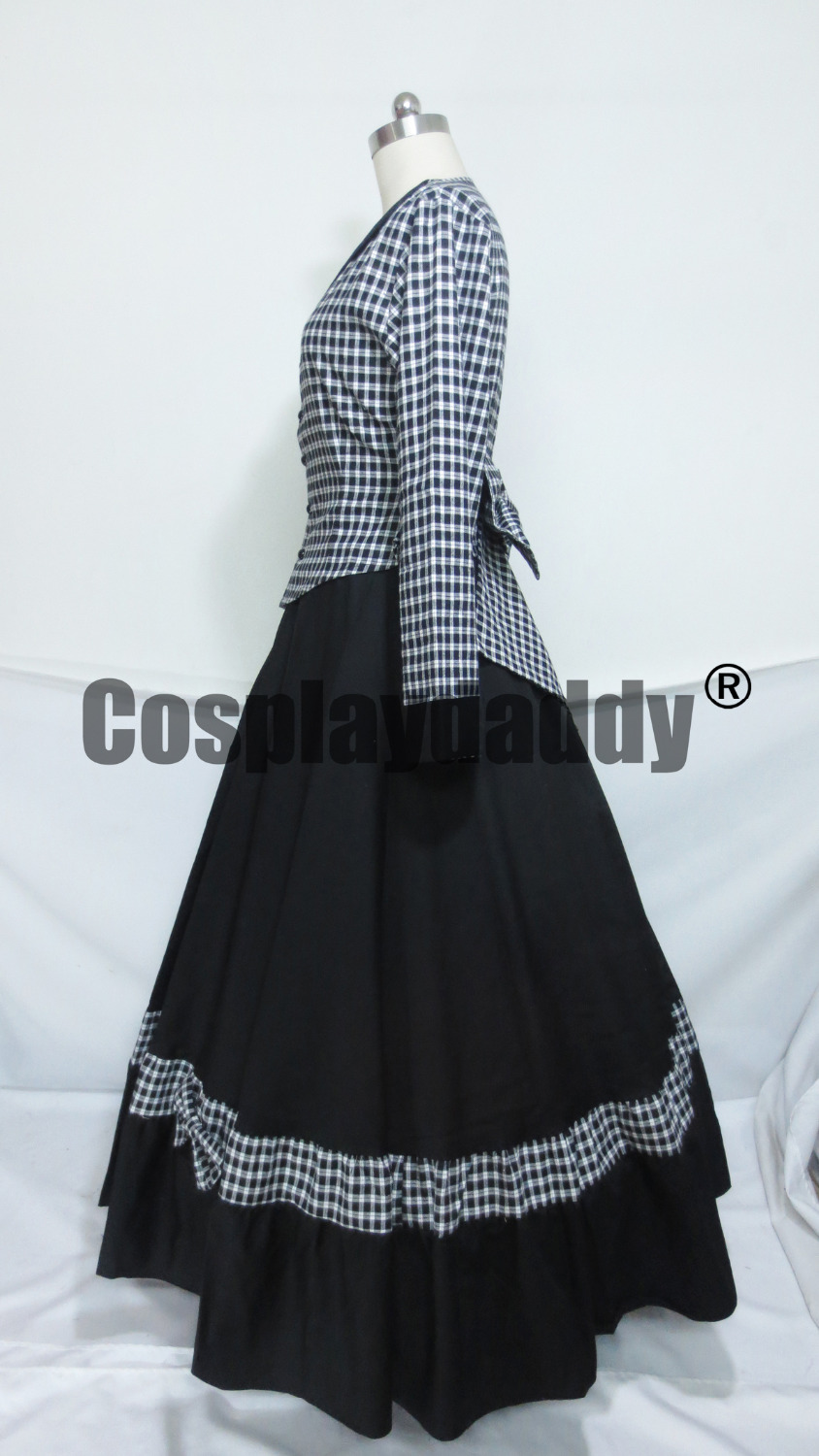 Civil War Victorian Tartan Ball Gown Lolita Dress Prom on Aliexpress ...