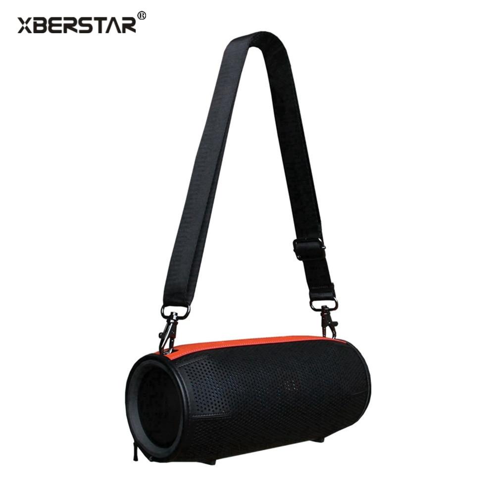 Цена за Из искусственной кожи путешествия чехол для JBL Xtreme портативный беспроводной динамик рукава сумка держатель на молнии чехол с ремешком Высокое качество Новый