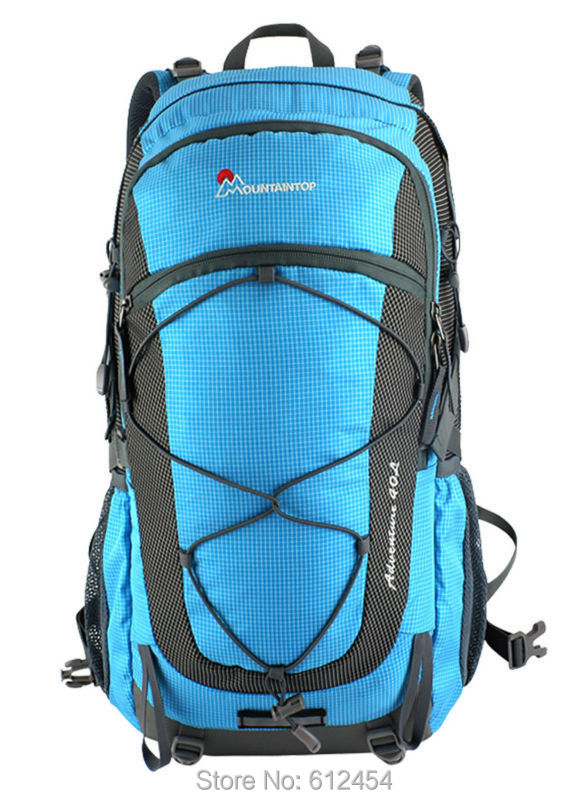 56cb3e593656 40L Mountaintop Mountain Bag Hiking Backpack Outdoor Shoulders Bag  Waterproof Women s Casual Day Backpacks For Hiking Climping-in Backpacks  from Luggage ...