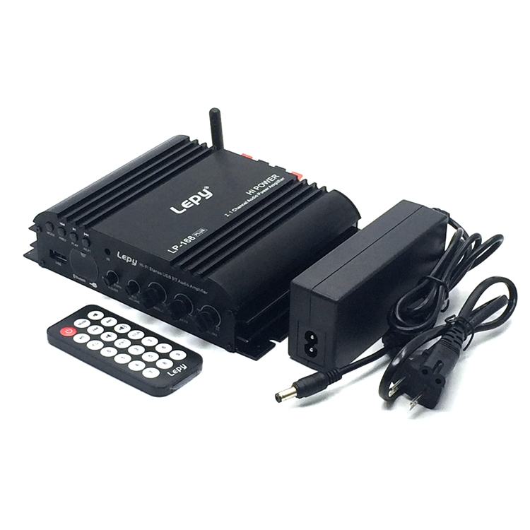2.1 channel Bluetooth card digital Power amplifier USB computer subwoofer output with Power supply and audio cable цена