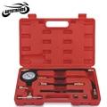 Auto Fuel Injection Pump Pressure Tester Kit Car Petrol Gas Engine Cylinder Compression Gauge Car Diagnostic Tool