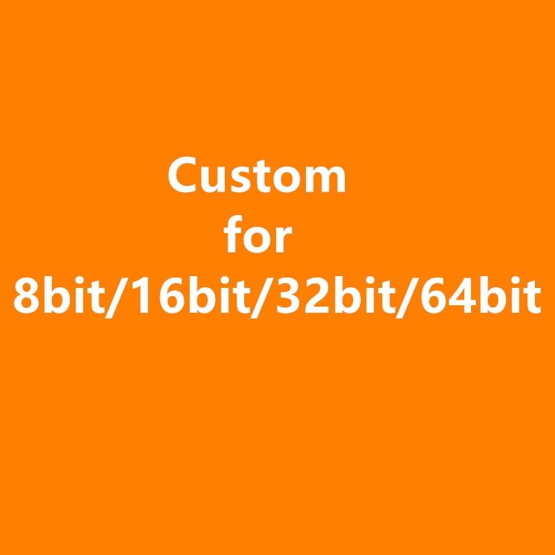 Custom For 8 bit 16 bit 32bit 64bit games cart